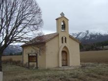 Chapelle Ste Bernadette à la Farette - Mévouillon.